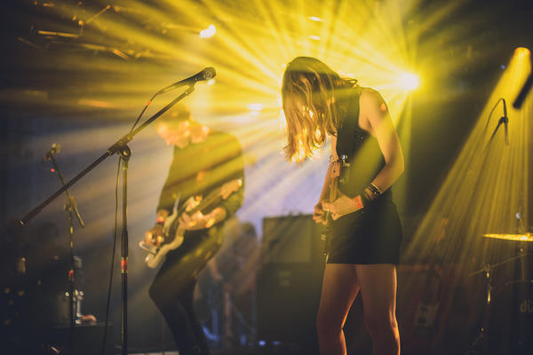 Wolf Alice Performs at the Hype Hotel during SXSW 2014.