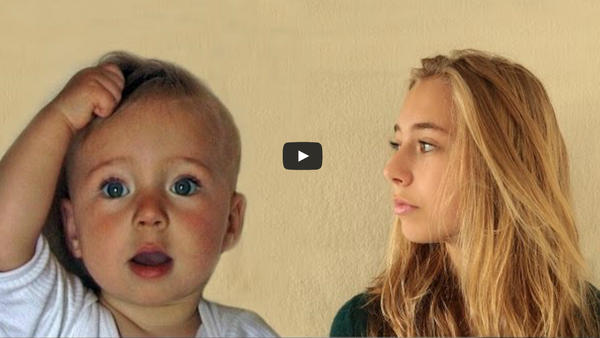 A Dutch filmmaker has updated his time-lapse video project, showing his daughter growing from a a chubby-cheeked baby into a braces-wearing teenager.