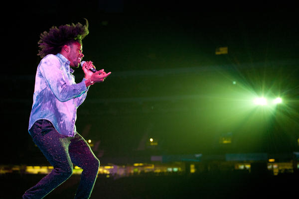Jesse Boykins III had a rough slot at Essence Fest 2014: opening the first night on the main stage.