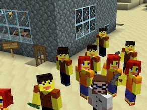 "<a href=""http://blogs.kqed.org/mindshift/2012/05/teachers-transform-commercial-video-game-for-class-use/"" target=""_blank"">Minecraft has become a classroom favorite, allowing students to create and explore.</a>"