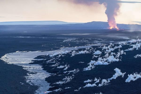 The eruption, which started in August, shows no signs of slowing down.