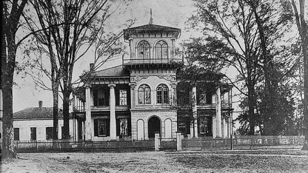 "The Drish House in Tuscaloosa, Ala., is the site of ""Death Lights in the Tower,"" the second ghost story in Kathryn Tucker Windham's <em>13 Alabama Ghosts and Jeffrey</em>. You can hear Windham tell the story <a href=""https://www.youtube.com/watch?v=9gcPl-0OUKo&list=UUM84cRJOWVRW9NK96w-pqeA"">here</a>."