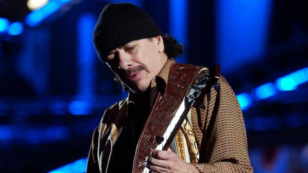 Carlos Santana uses music to reflect on his career in this week's episode of <em>Alt.Latino</em>.