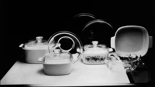 Classic CorningWare pieces, if not in your kitchen already, can be found at yard sales. Updated pieces are on store shelves. Corning spun off its consumer-products division in 1998, and it is now marketed by World Kitchen LLC.
