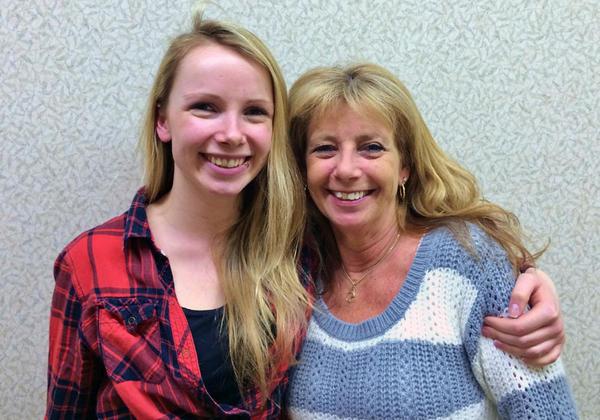 Millennial Zara Palmer (left) was born in 1992. Her mom, Julie, was born in 1959.  (Jessica Robinson/Northwest News Network)