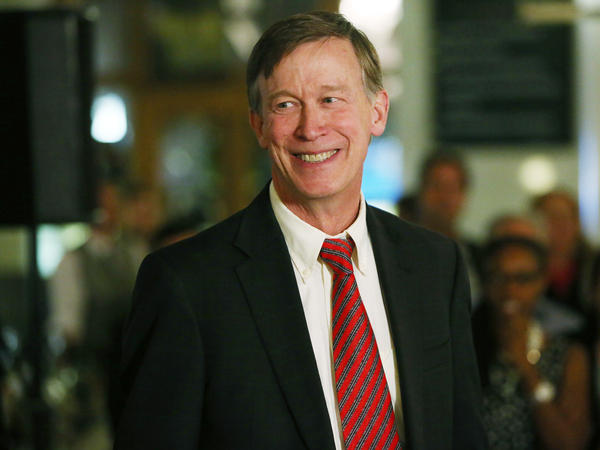 Colorado Gov. John Hickenlooper, a Democrat, defeated his Republican challenger in a tight election Tuesday.