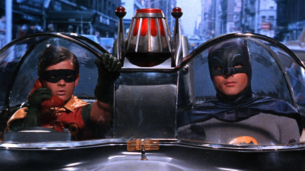 Unlike later incarnations of Batman, the '60s version was tongue-in-cheek.