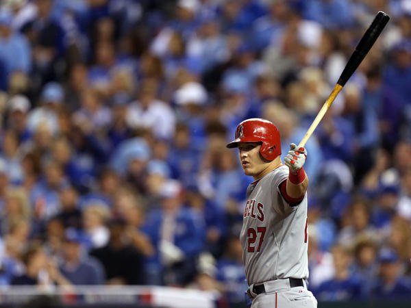 After helping the Angels win 98 games this season, outfielder Mike Trout swept the first-place votes for the American League Most Valuable Player.