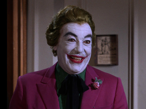Cesar Romero played the Joker on the '60s show.