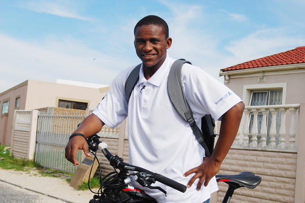 As a teenager, Sizwe Nzima was frustrated by long waits at pharmacies dispensing HIV medications. So he began a medicine delivery service, now serving 930 patients.