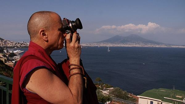Nicholas Vreeland in Naples, Italy.