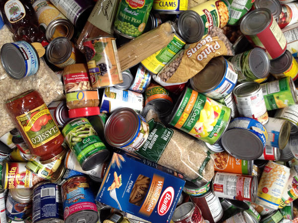 """Peanut butter, canned tuna and canned fruits in natural juices are among the """"superfoods"""" on Feeding America San Diego's list of requested donations."""