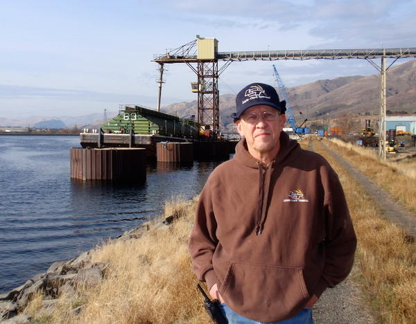 Lewis-Clark Terminal general manager Arvid Lyons