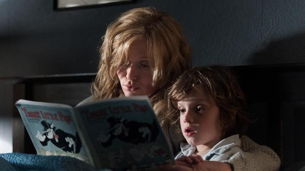Essie Davis and Noah Wiseman in <em>The Babadook</em>.