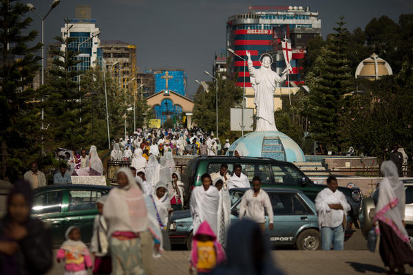 Magnificent bole addis ababa ethiopia church all does