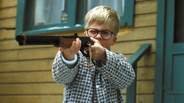 In the 1983 movie <em>A Christmas Story</em>, all Ralphie wanted was a BB gun.