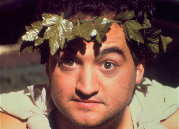"The survey results go against the image of Greek life depicted in the 1978 movie ""Animal House"" with John Belushi."