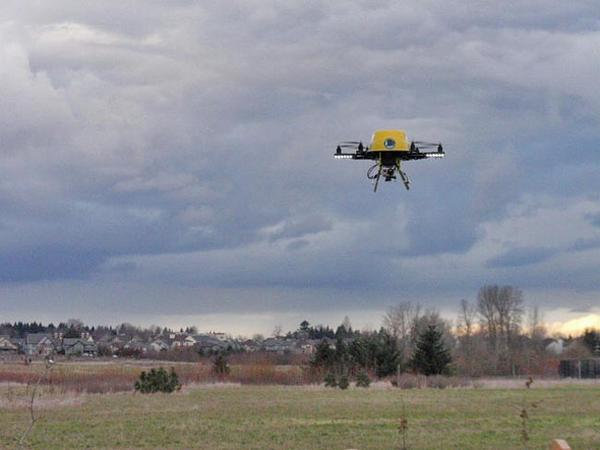 File photo. There have been a number of close calls between manned aircraft and small drones in Northwest skies.