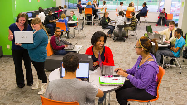 In diverse workplaces and classrooms — such as this one at Connections Education in Baltimore — recent research suggests that adhering to standards of political correctness can actually boost, rather than inhibit, the generation of fresh ideas.