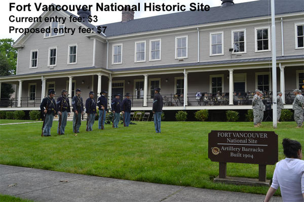 The artillery barracks at Fort Vancouver