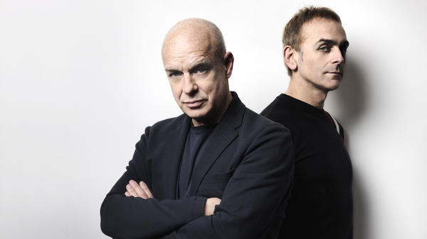 "Brian Eno and Karl Hyde's collaboration ""The Satellites"" is featured on this week's <em>Metropolis</em> mix."