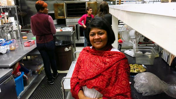 Srirupa Dasgupta opened Upohar, a restaurant and catering service, with a social mission. Her employees — primarily refugees — earn double the minimum wage.