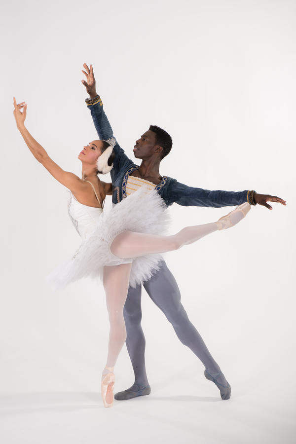 Brooklyn Mack and Misty Copeland will dance the lead roles in the Washington Ballet's spring production of <em>Swan Lake</em><em>.</em>