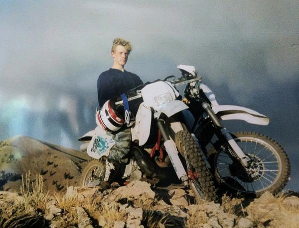 Bowe Bergdahl at age 16.