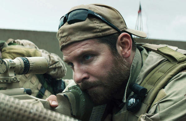 """""""American Sniper,"""" which stars Bradley Cooper, tells the story of Navy SEAL sniper Chris Kyle. (Warner Bros. Pictures)"""