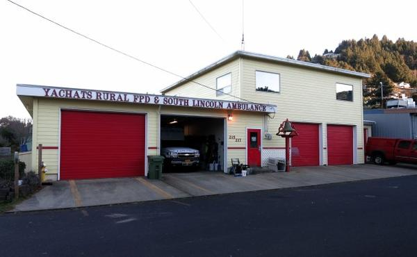 <p>The Yachats Fire Department building is 65 years old and just 20 feet above sea level.</p><p>The town is looking into a bond measure to move it to higher ground.</p>