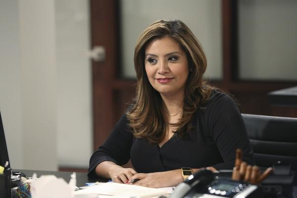 "Cristela Alonzo stars in the ABC sitcom ""Cristela."" She also created and writes for the show. (Adam Taylor/ABC)"