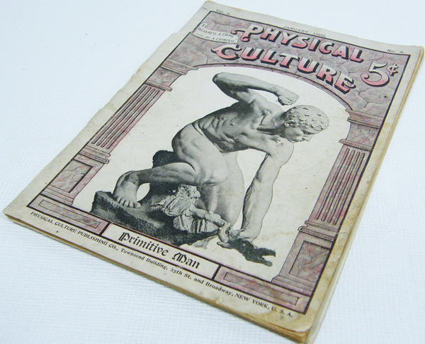 <p>In 1899, Macfadden published the first edition of <em>Physical Culture</em>, a magazine devoted to bodybuilding, health and nutrition that ran until 1952. At its peak in the 1910s, it had sales of more than 100,000 issues per month.</p><p></p>