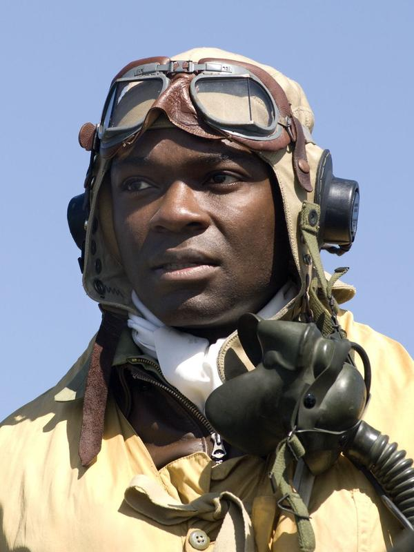 "David Oyelowo stars as Joe ""Lightning"" Little in <em>Red Tails</em>."