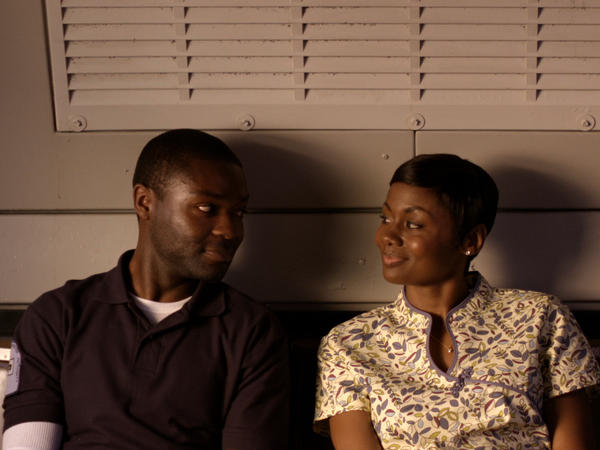 David Oyelowo and Emayatzy Corinealdi in <em>Middle of Nowhere</em>.