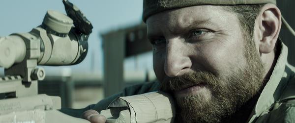 Bradley Cooper stars in <em>American Sniper,</em> based on the life of Navy SEAL Chris Kyle.