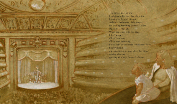 <em>Excerpted from </em>A Dance Like Starlight: One Ballerina's Dream <em>by Kristy Dempsey, illustrated by Floyd Cooper. Text copyright 2014 by Kristy Dempsey. Illustrations copyright 2014 by Floyd Cooper. Excerpted by permission of Philomel Books.</em>