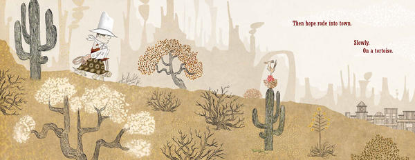 <em>Excerpted from </em>Kid Sheriff and the Terrible Toad <em>by Bob Shea, illustrations by Lane Smith. Text copyright 2014 by Bob Shea. Illustration copyright 2014 by Lane Smith. Excerpted by permission of Roaring Brook Press, a division of Holtzbrinck Publishing Holdings Limited Partnership.</em>
