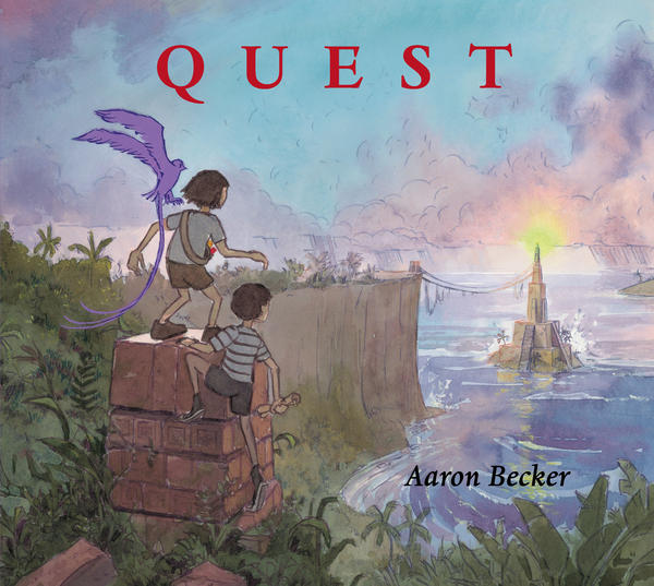 Quest. <em>Copyright 2014 by Aaron Becker. Reproduced by permission of the publisher, Candlewick Press, Somerville, MA.</em>