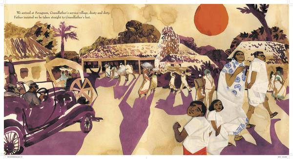 <em>Excerpted from </em>Grandfather Gandhi <em>by</em><em> Arun Gandhi and Bethany Hegedus, illustrated by Evan Turk</em><em>. Text copyright 2014 by</em><em> Arun Gandhi and Bethany Hegedus</em><em>. Illustrations copyright by Evan Turk. Excerpted by permission of</em><em> Atheneum Books For Young Readers</em><em>, an imprint of Simon & Schuster Children's Publishing Division.</em>