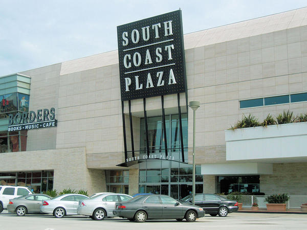 Robin Lewis says the South Coast Plaza mall in Costa Mesa, California, is popular for its wide range of restaurants and activities. (Coolcaesar/Wikimedia Commons)