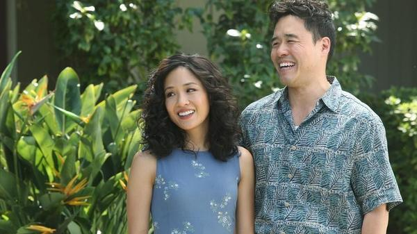 Randall Park and Constance Wu co-star as husband and wife Louis and Jessica Huang in <em>Fresh Off the Boat.</em>