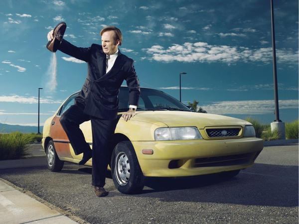 On <em>Better Call Saul</em>, Bob Odenkirk plays Jimmy McGill, a fast-talking, struggling public defender who decides to remake himself as Saul Goodman, a lawyer specializing in representing unabashed criminals.