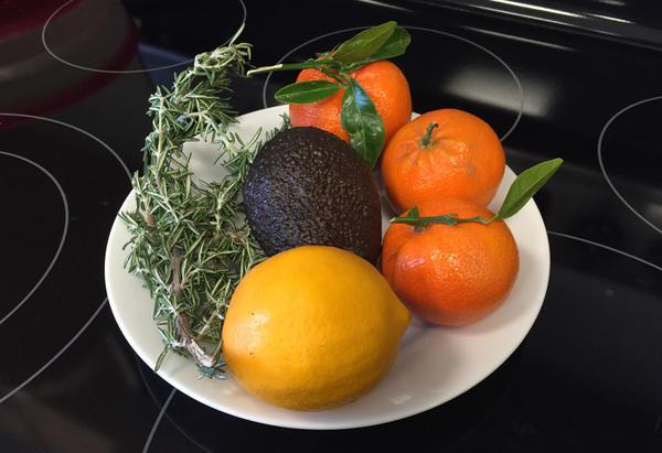 Kathy Gunst sent us some fresh produce from California. (Rachel Rohr)