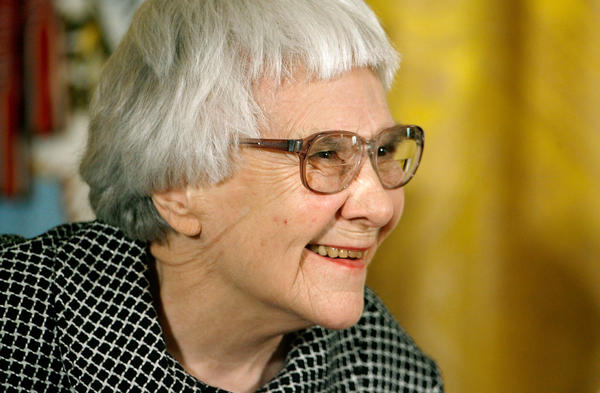 """Pulitzer Prize winner and """"To Kill A Mockingbird"""" author Harper Lee smiles before receiving the 2007 Presidential Medal of Freedom. (Chip Somodevilla/Getty Images)"""
