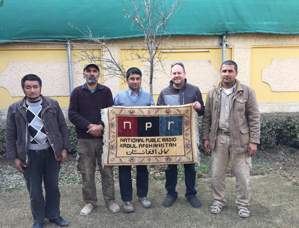 Sean Carberry spent two and a half years living in Kabul, Afghanistan as an NPR correspondent. (Courtesy of Sean Carberry)
