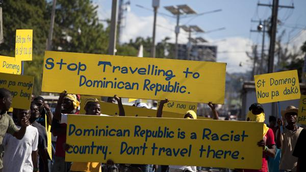 Opponents of the Dominican Republic's citizenship policy have called on the international community to boycott the country's tourism industry to send the message that discrimination is unacceptable.