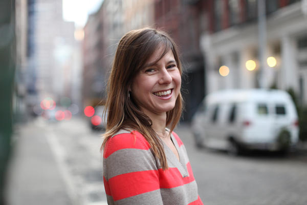 "Anna Sale is the host and managing editor of the WNYC podcast ""Death, Sex & Money."" (Amy Pearl/WNYC)"
