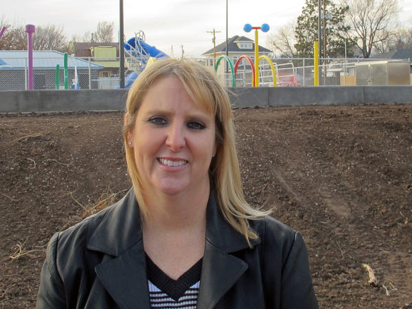 Dea Mandevill, city manager of Medford, Okla., says the earthquakes are worth all the benefits the oil boom has brought: a new park, police cars, construction equipment and ambulances.