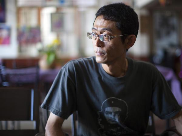 Myat Thu owns Aiya, a restaurant in Mae Sot, Thailand.