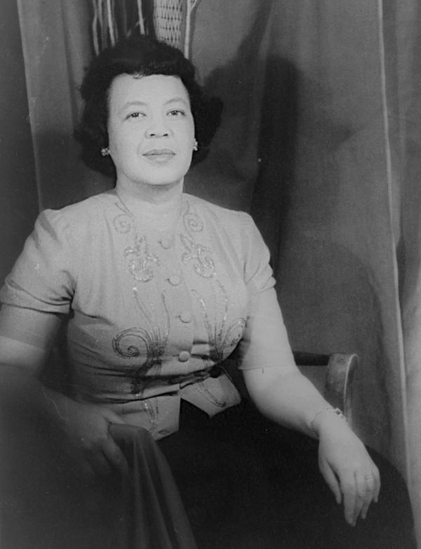 Margaret Bonds in 1956. Born in Chicago in 1913, Bonds became one of the first African-American female composers to gain recognition in the United States.
